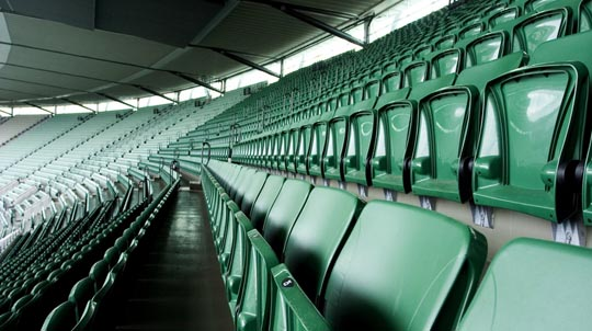 Sports stadium seating